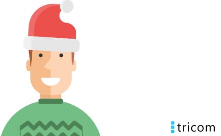 Tidlig julegave til leverandører på Tricommerce
