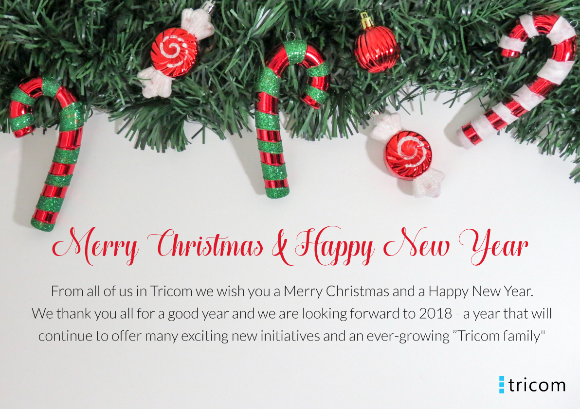 Merry Christmas and a happy New Year   Tricom